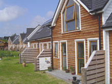 Centini houses in Findhorn