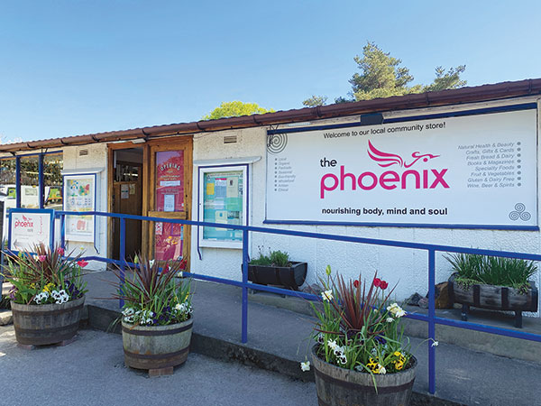 The outside of the Phoenix building