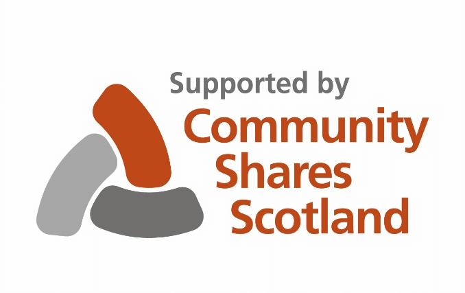 Supported by Community Shares Scotland